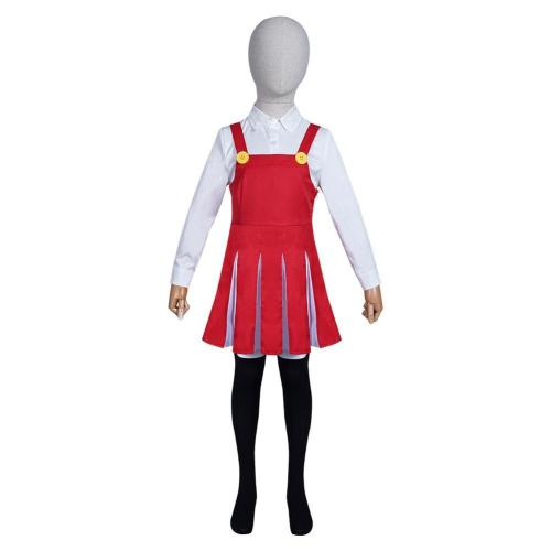 My Boku No Hero Academia Eri Kids Gils Shirt Skirt Outfits Halloween Carnival Suit Cosplay Costume