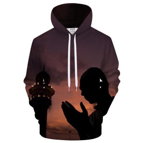 Ramadan Faith 3D Sweatshirt Hoodie Pullover