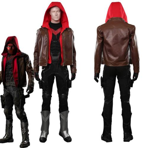 Titans Season 3-Jason Todd/Red Hood Outfits Halloween Carnival Costume Cosplay Costume