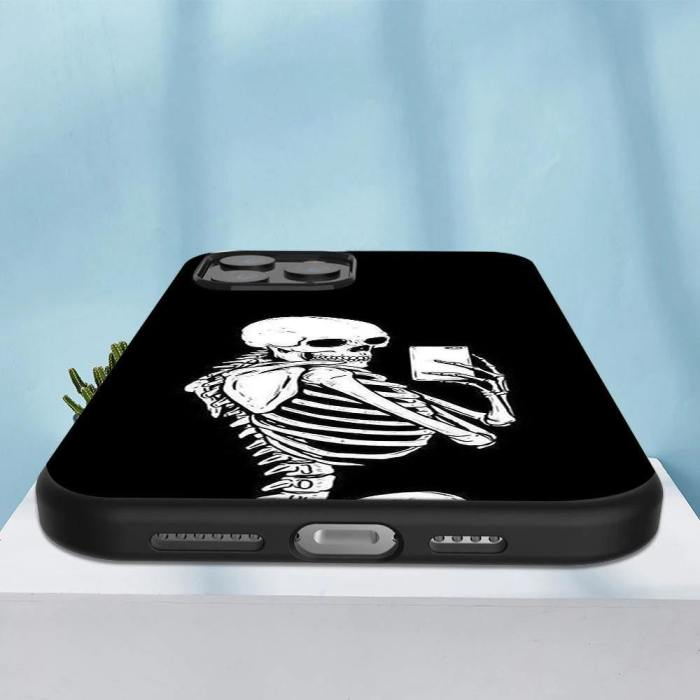 Aesthetic Skeleton Phone Case For Iphone
