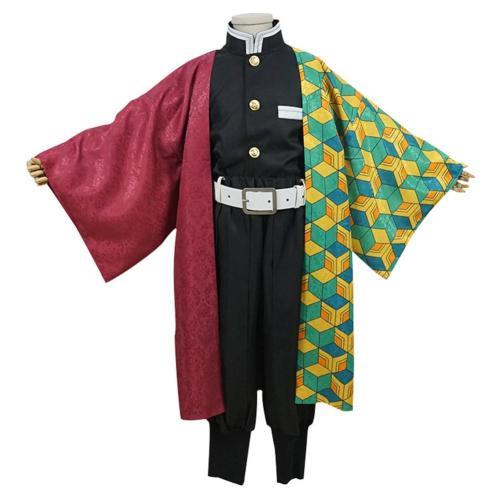 Demon Slayer Tomioka Giyuu Kids Children Uniform Outfit Cosplay Custome