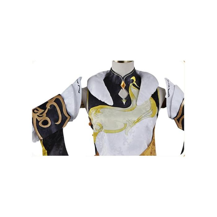 Genshin Impact Ningguang Outfits Halloween Carnival Suit Cosplay Costume