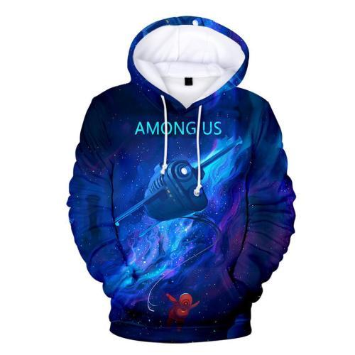 Adult Style-15 Impostor Crewmate Among Us Cartoon Game Unisex 3D Printed Hoodie Pullover Sweatshirt