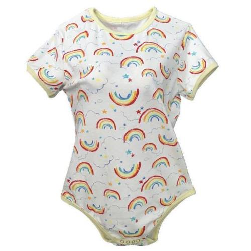 Rainbow Crayon Bodysuit
