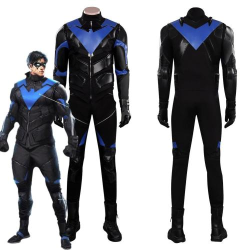 Gotham Knights Nightwing Outfits Halloween Carnival Suit Cosplay Costume