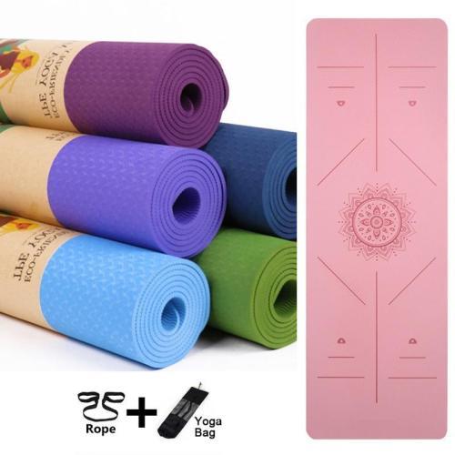 Non Slip Mat Yoga Beginner Environmental Fitness Gymnastics Mats Exercise Mat