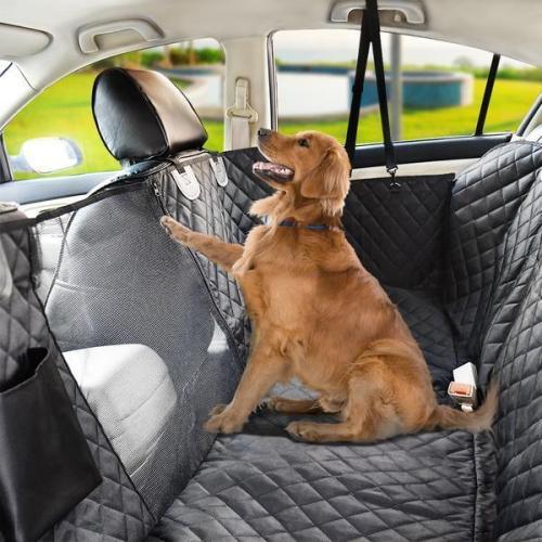 Premium Dog Rear Car Seat Cover