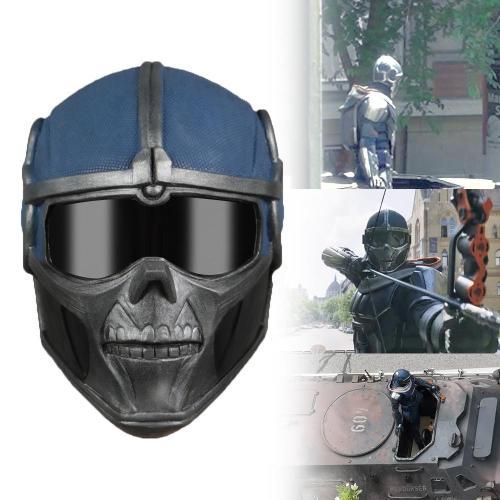 Black Widow Captain America Taskmaster Mask Cosplay Superhero Helmet Soft Latex Masks Helmets Props