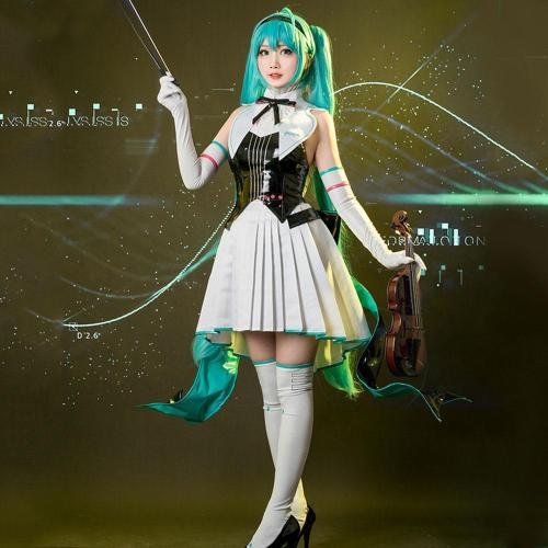 Vocaloid Hatsune Miku Symphony Halloween Cosplay Costume