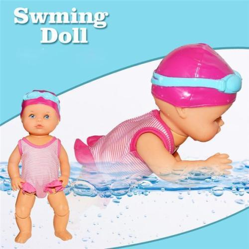 Electric Waterproof Swimming Doll