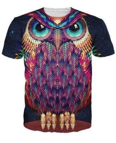 Fierce Owl T-Shirt
