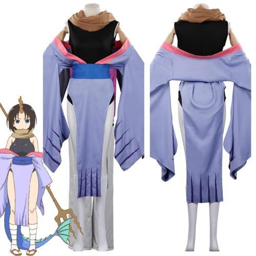 Miss Kobayashi'S Dragon Maid Elma Outfits Halloween Carnival Suit Cosplay Costume
