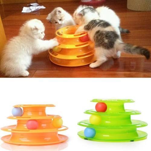 Three Level Tower Cat Toy
