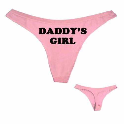 Daddy'S Girl Thong