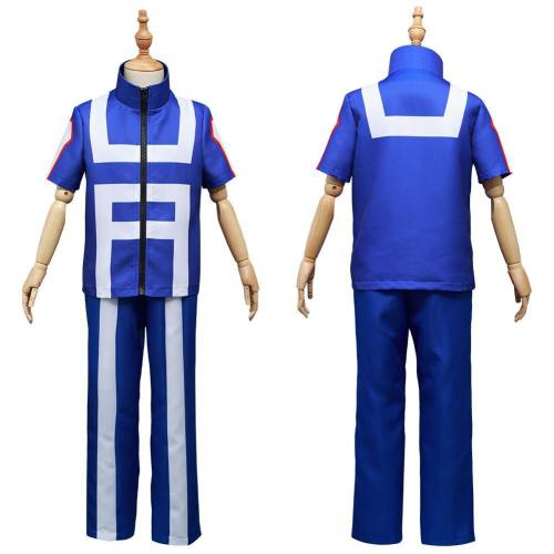 Boku No My Hero Academia Midoriya Izuku Kids Children Halloween Carnival Suit Cosplay Costume