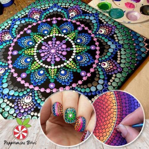 Mandala Dotting Art Set
