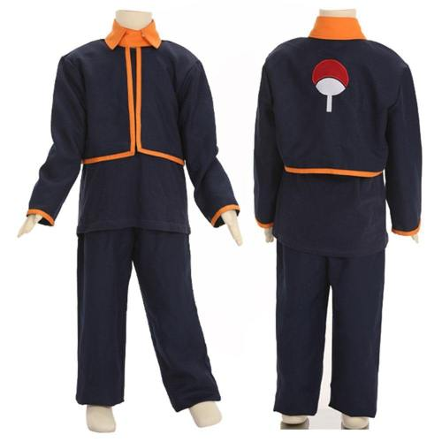 Child Size Kids Size Young Uchiha Obito From Naruto Halloween Cosplay Costume