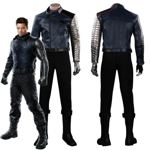 Falcon & Winter Soldier Outfits Halloween Carnival Suit Cosplay Costume
