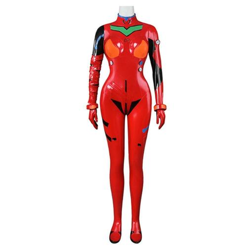Neon Genesis Evangelion Eva Asuka Langley Soryu Women Jumpsuit Outfits Halloween Carnival Suit Cosplay Costume