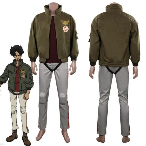 Megalo Box 2 Junk Dog Outfits Halloween Carnival Suit Cosplay Costume