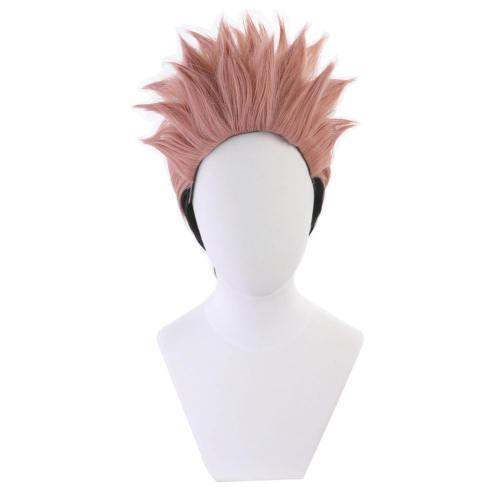 Jujutsu Kaisen Ryomen Sukuna Heat Resistant Synthetic Hair Carnival Halloween Party Props Cosplay Wig