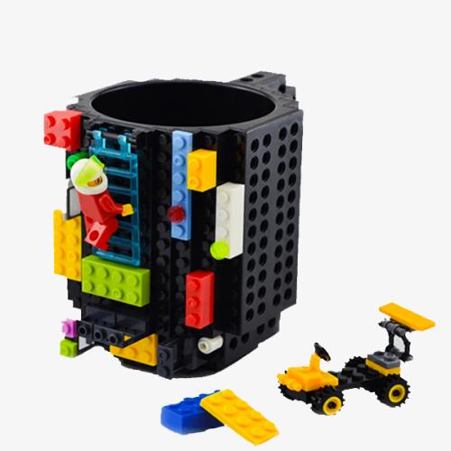 Original Build On Brick Mug - Ideal Cup For Juice, Tea, Coffee & Water - Best Novelty Gift
