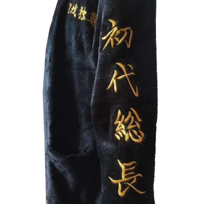 Anime Tokyo Revengers Manjiro Sano Bathrobe Sleepwear One Piece Cosplay Costume