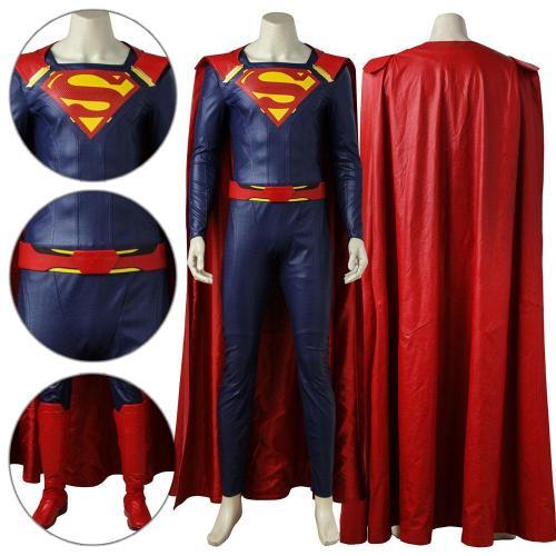 Superman Clark Kent Supergirl Season 2 Cosplay Costume