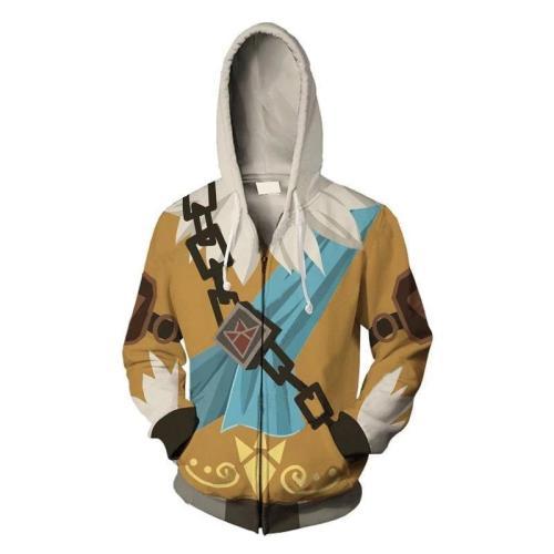 The Legend Of Zelda Daruk Game Unisex 3D Printed Hoodie Sweatshirt Jacket With Zipper