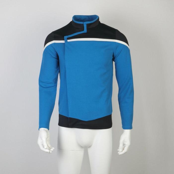 Star Trek Lower Decks Captain Freeman Red Uniform Ensign Rutherford Yellow Blue Top Shirts