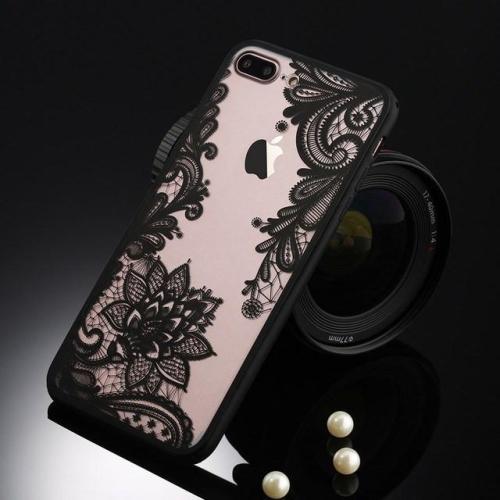 Black Flower Iphone Case