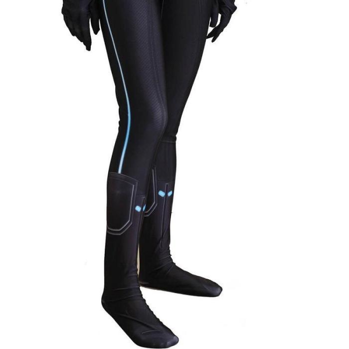 Black Widow Natasha Romanoff Cosplay Costume Zentai Bodysuit Jumpsuit