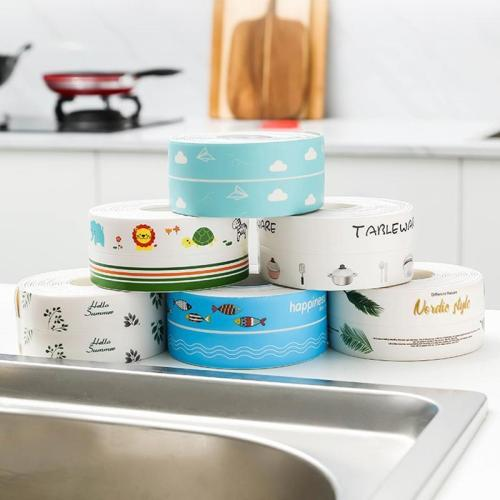 Waterproof Mildew Tape - Self Adhesive Tub And Wall Sealing Tape