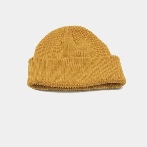 Men'S Street Versatile Knitted Wool Cap