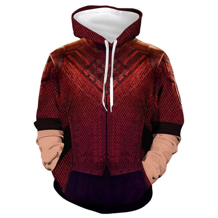 Shang-Chi And The Legend Of The Ten Rings Cosplay Costume Hoodie Sweater Jacket