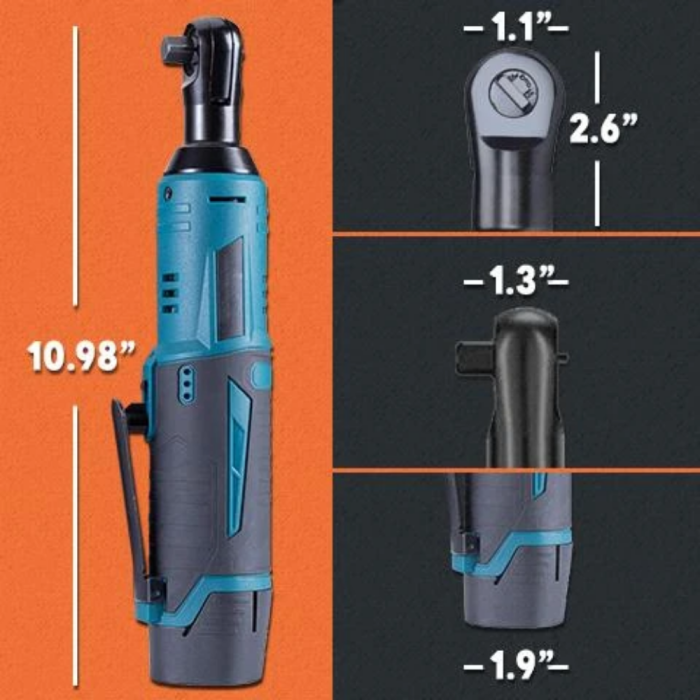 Cordless Electric Ratchet Wrench - 12V