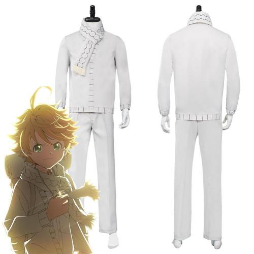 The Promised Neverland Season 2 Emma Top Pants Outfits Halloween Carnival Suit Cosplay Costume