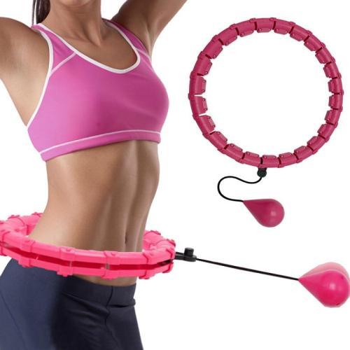 Adjustable Sport Hoops Abdominal Thin Waist Exercise Detachable Massage Hoops
