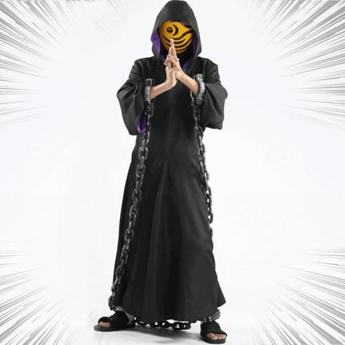 Uchiha Obito Tobi From Naruto Halloween Cosplay Costume
