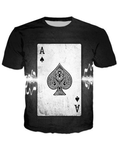 Ace Of Spades Poker T-Shirt