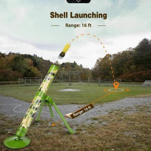 Simulation Rocket Shooting Mortar Toy