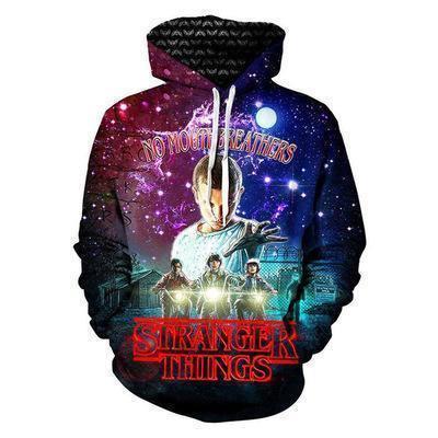 Stranger Things Magic Star Movie Unisex 3D Printed Hoodie Pullover Sweatshirt