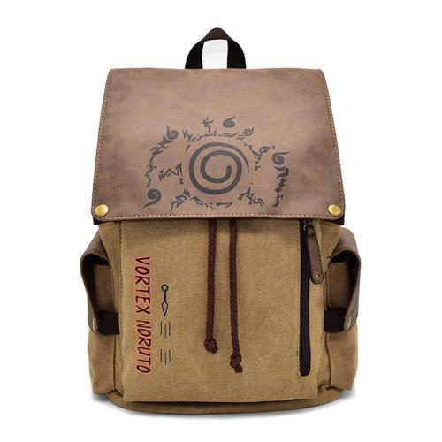 Anime Naruto Cosplay Canvas Backpack Halloween School Bags