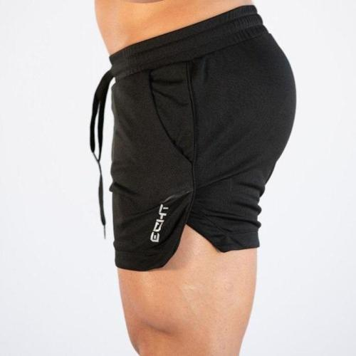 Men Sports Casual Clothing Fitness Workout Running Grid