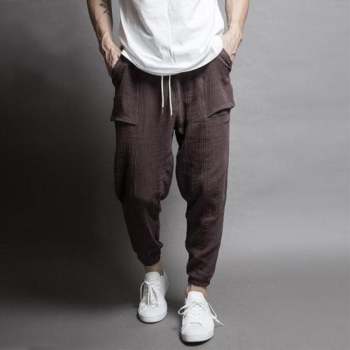 Mens Baggy Vintage Casual Pants