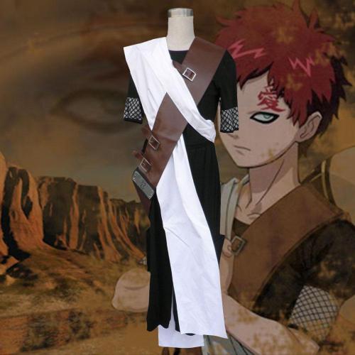Gaara From Naruto Halloween Cosplay Costume - B Edition