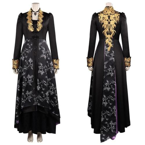 The Witcher Yennefer Outfits Halloween Carnival Suit Cosplay Costume