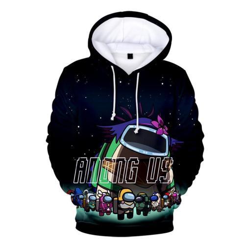 Kids Style-11 Impostor Crewmate Among Us Cartoon Game Unisex 3D Printed Hoodie Pullover Sweatshirt