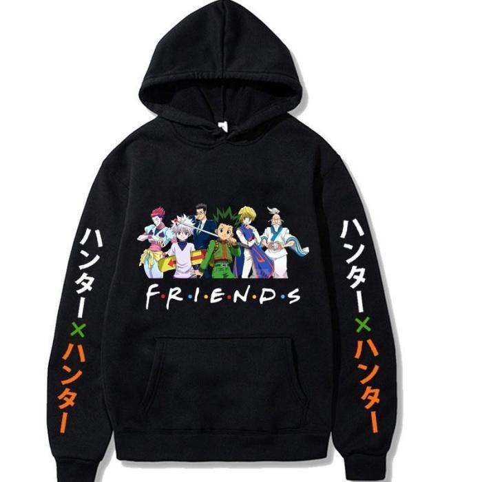 Hunter X Hunter Anime Friends Cosplay Pullover Sweatshirt Fleece Hoodie