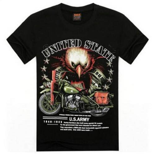 Biker Eagle 3D T-Shirt